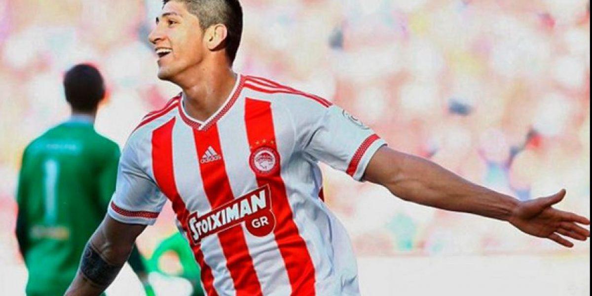 ¡Imparable! Alan Pulido vuelve a anotar con el Olympiacos
