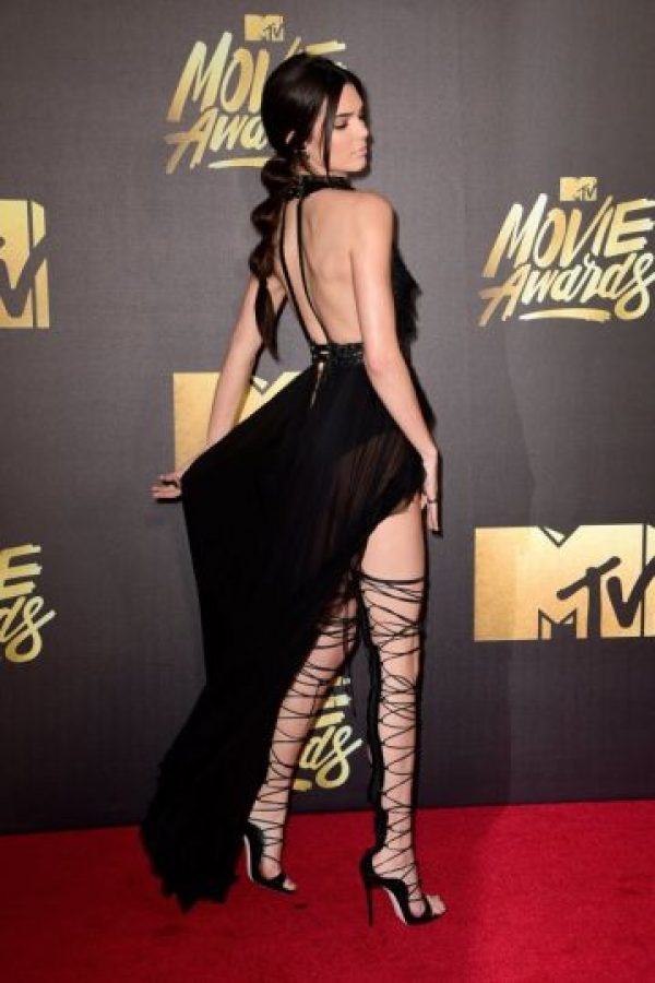Kendall en los MTV Movie Awards Foto: Getty Images