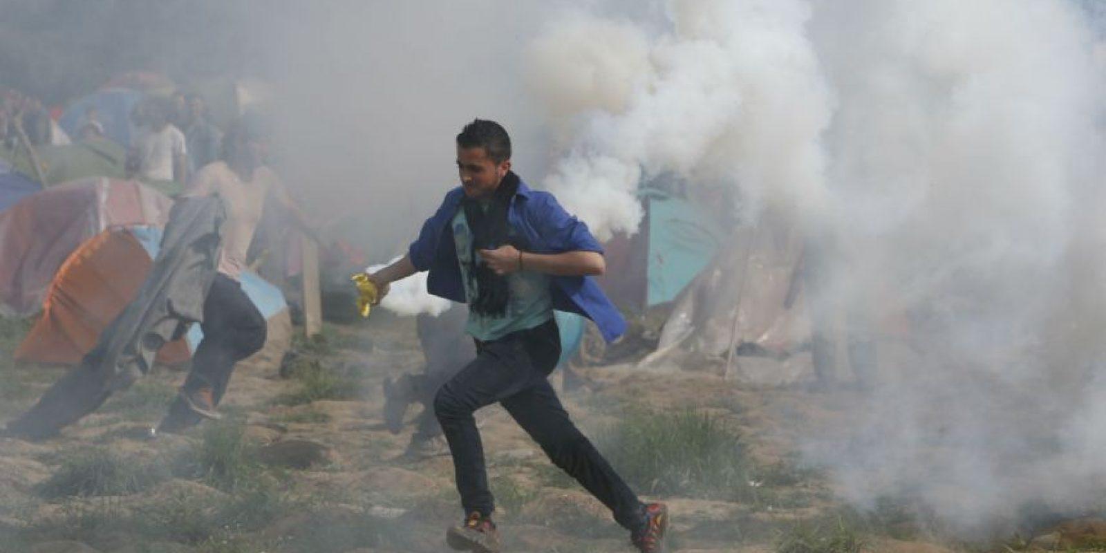 """El Gobierno griego condenó el uso """"indiscriminado"""" de este tipo instrumentos de represión Foto:AP"""