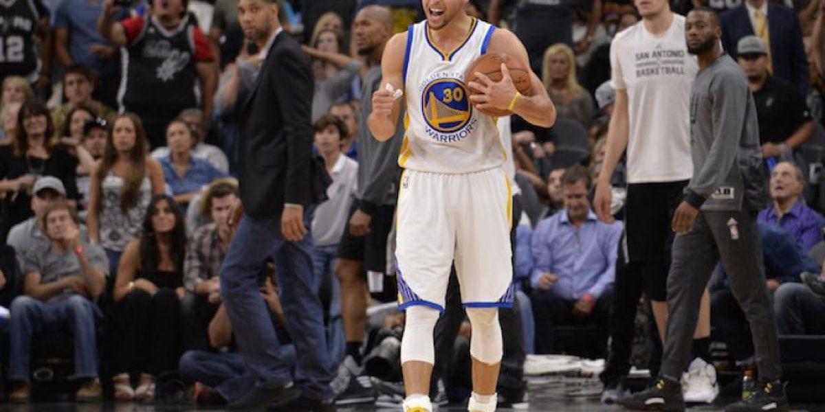 ¡Lo lograron! Warriors vencen a Spurs y empatan récord de Bulls
