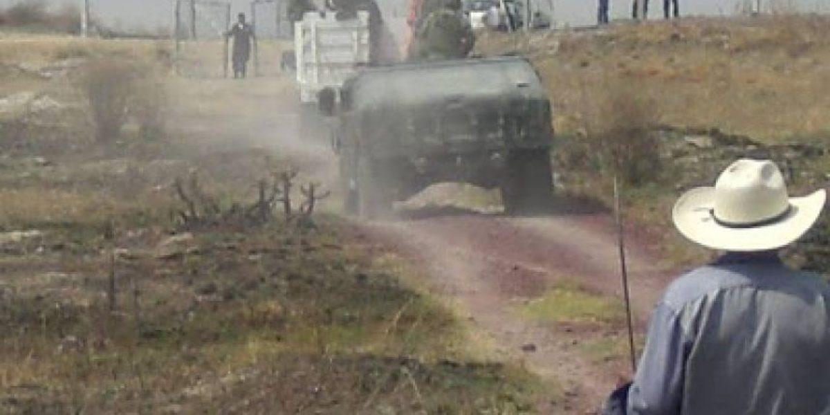 Pobladores de Atenco denuncian incursión del Ejército