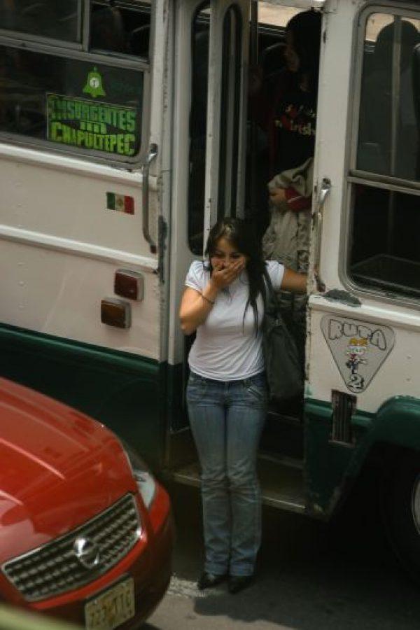 El transporte público es el medio más usado en la ciudad Foto:cuartoscuro