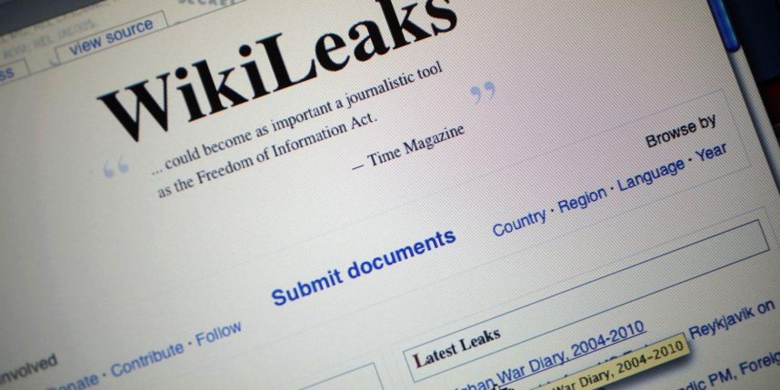 Wikileaks también dio a conocer documentos confidenciales del gobierno de EU. Foto:getty images