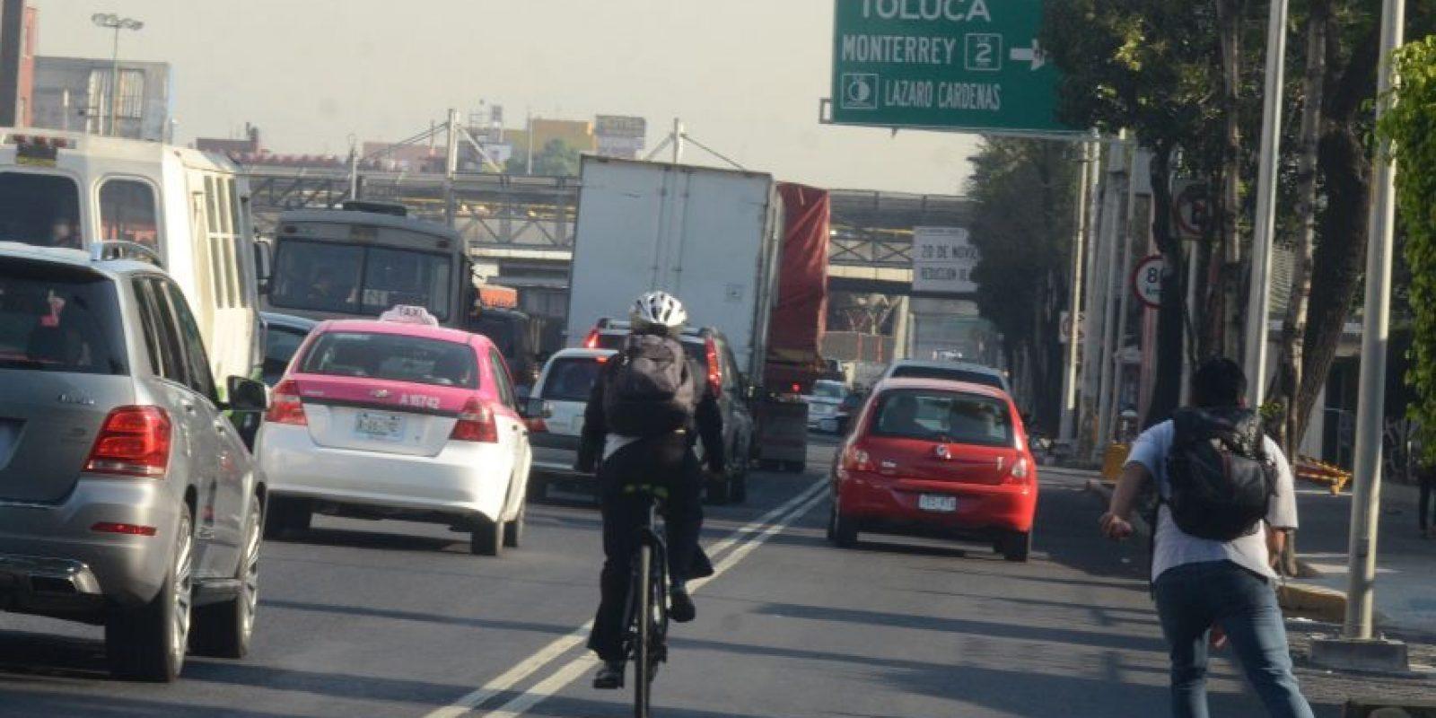 El uso de bicicletas se ha incrementado en los útlimos años Foto:cuartoscuro