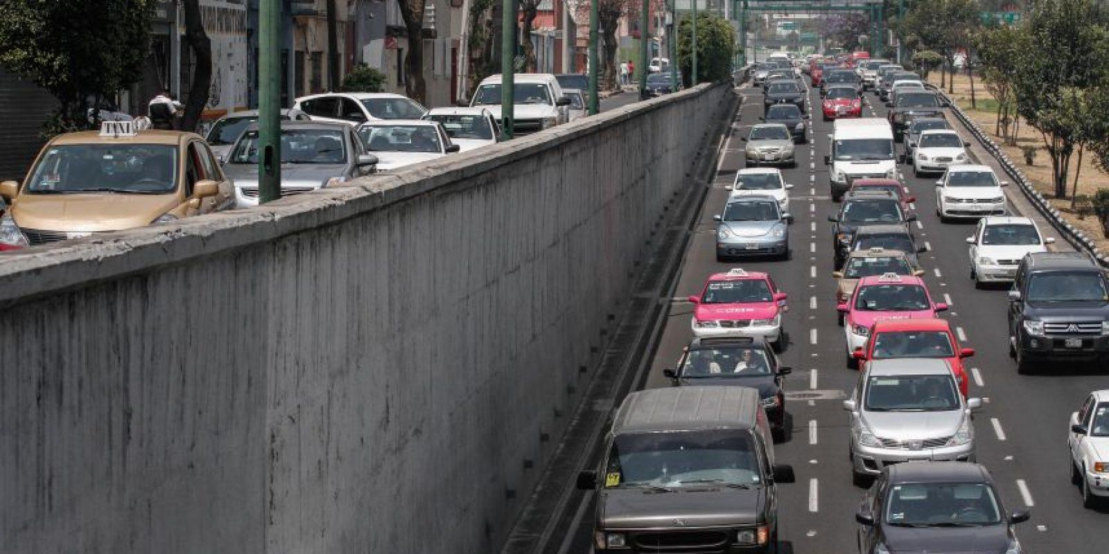 """El programa """"Hoy No Circula"""" restringe el uso del automóvil sin importar su calcomanía Foto:cuartoscuro"""