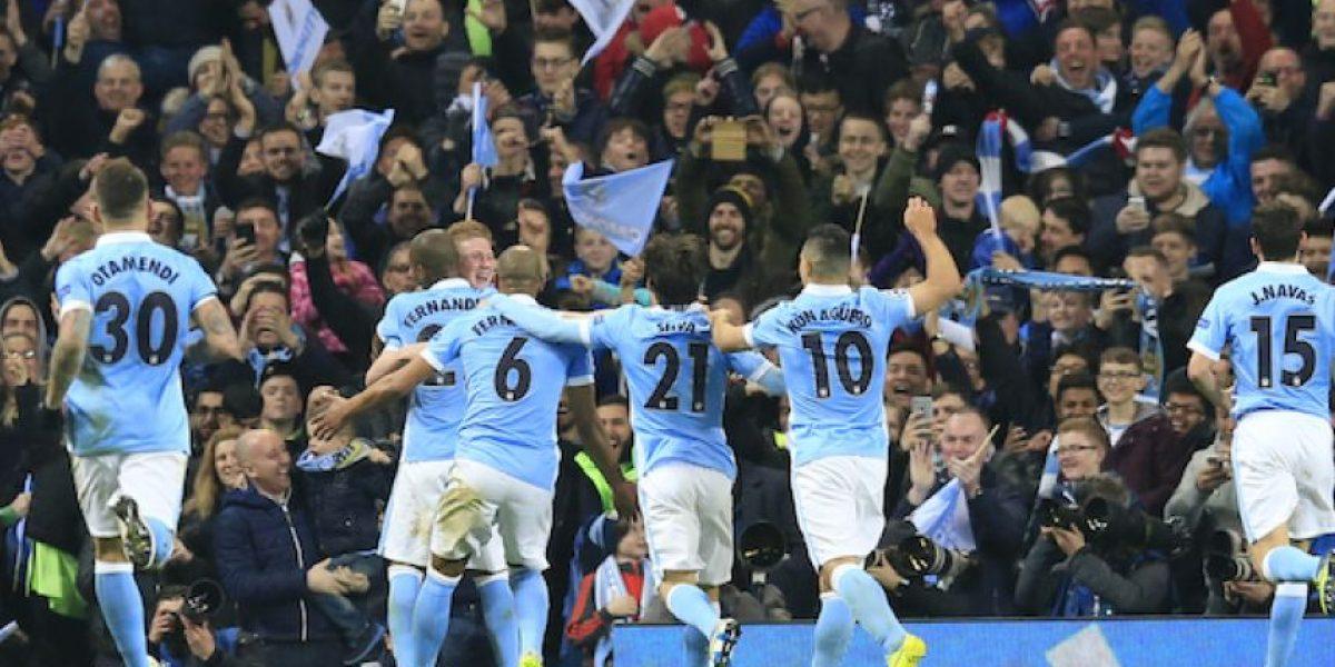 Manchester City elimina al PSG y accede por primera vez a semifinales