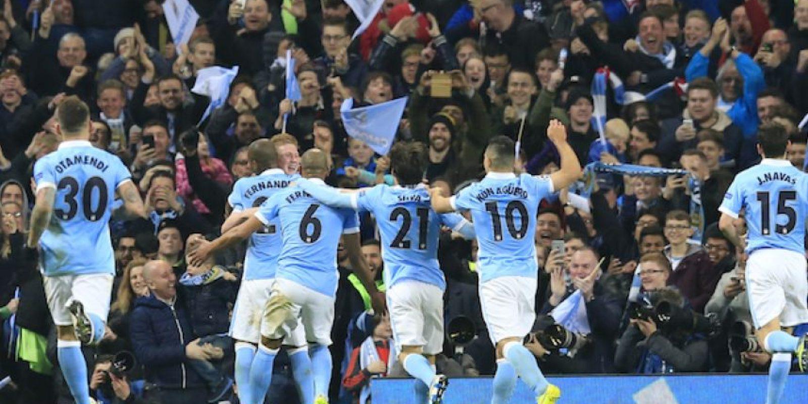 Manchester City elimina al PSG y accede por primera vez a semifinales Foto:AP