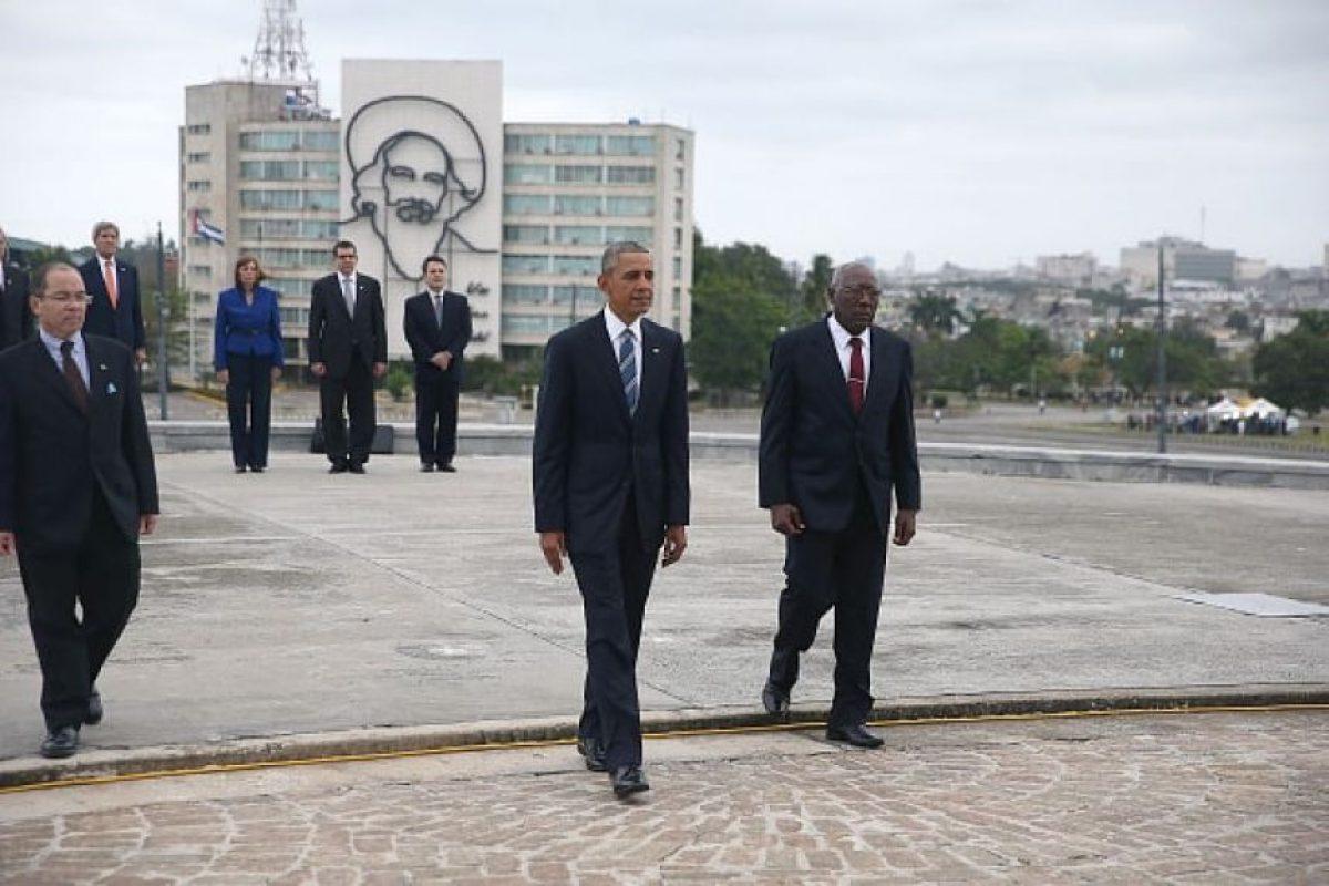 Comenzó el domingo 20 de marzo con la llegada de Barack Obama a la isla Foto:Getty Images