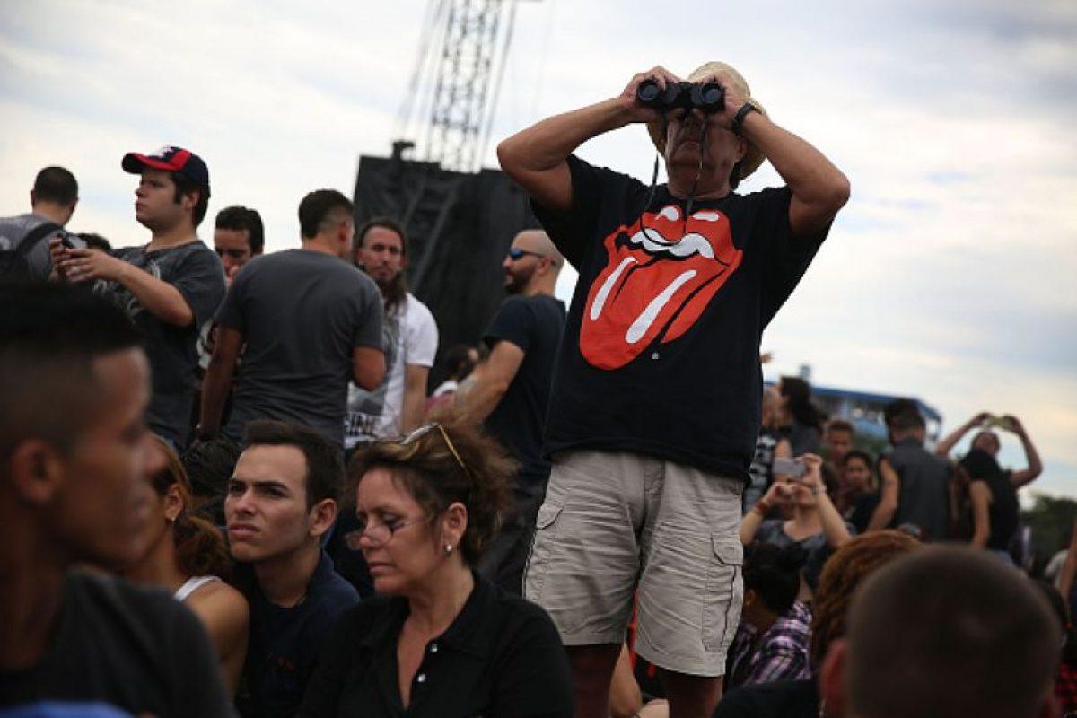 Siendo uno de los más grandes para la banda británica en los últimos años. Foto:Getty Images