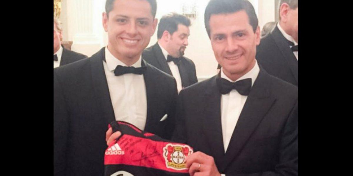 Peña Nieto manifiesta en Twitter su admiración por