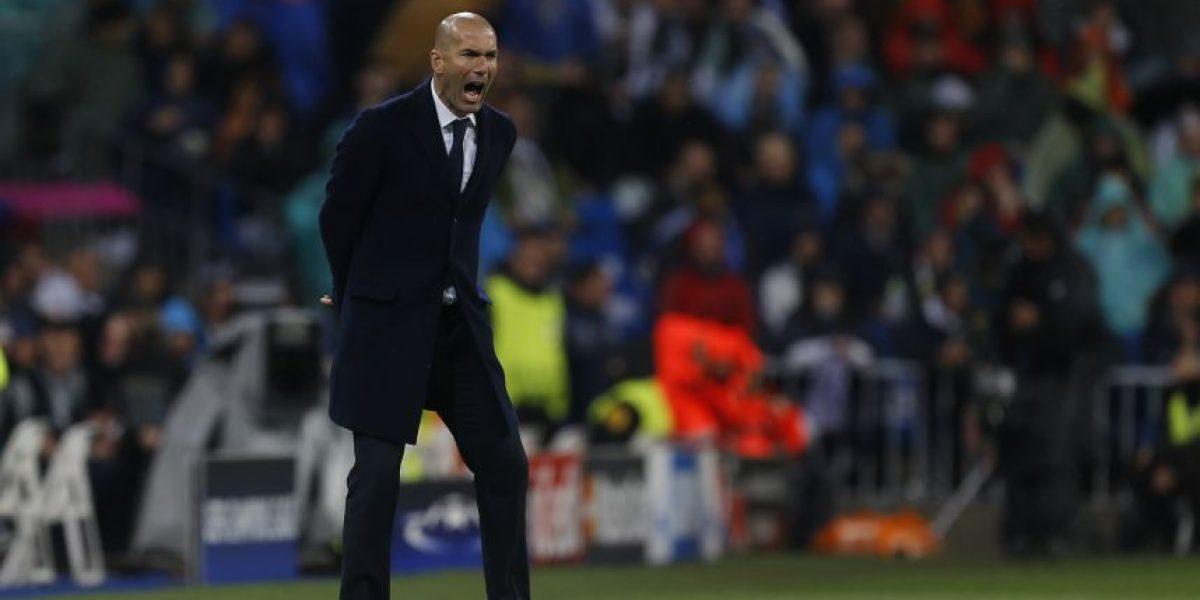 VIDEO: Zidane rompe su pantalón con eufórico festejo