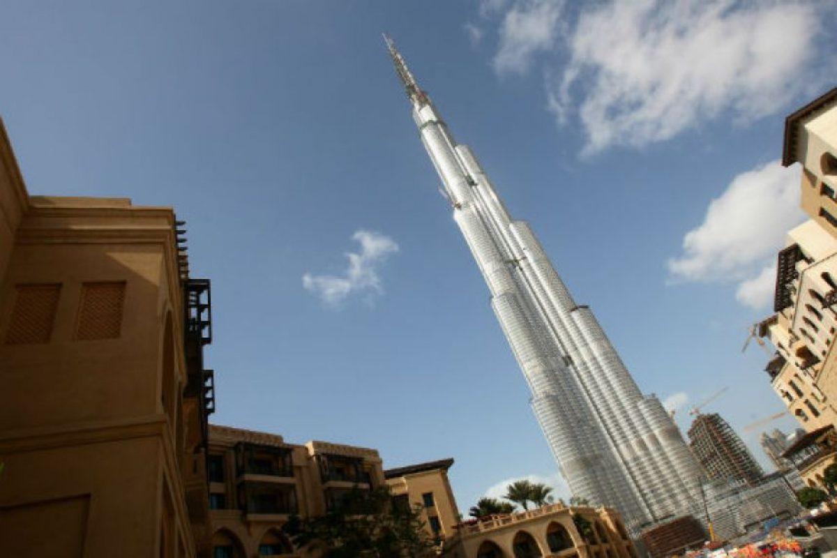 El Burj Khalifa Foto:Getty Images