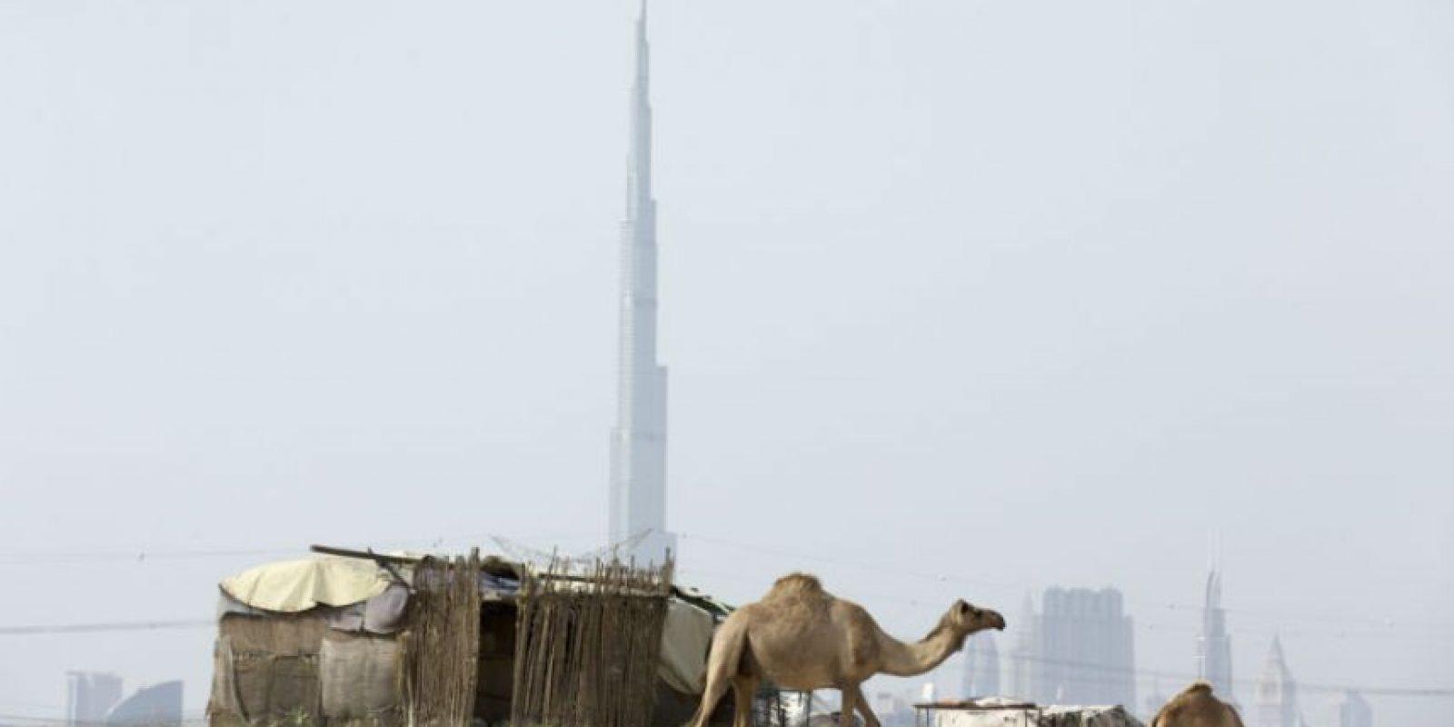 Conocido durante su construcción como Burj Dubái Foto:Getty Images