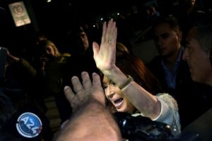 Esto debido a la investigación sobre ella por supuesto lavado de dinero. Foto:AFP