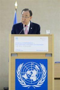 El actual secretario Ban Ki-Moon termina su gestión este año Foto:AP