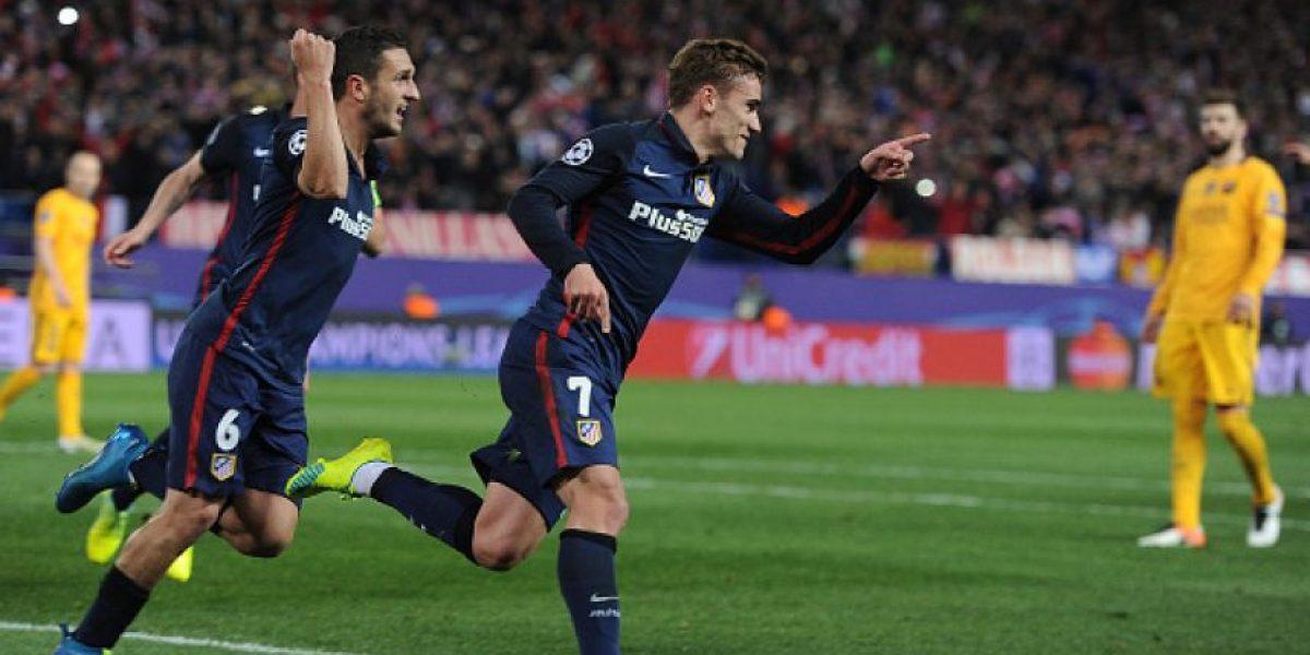 Atlético de Madrid elimina al Barcelona y avanza a semifinales de la Champions