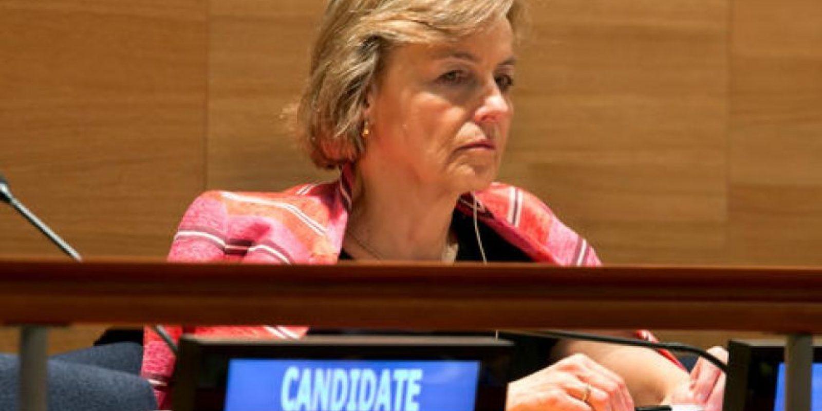 Candidata Vesna Pusic, de Croacia Foto:AP