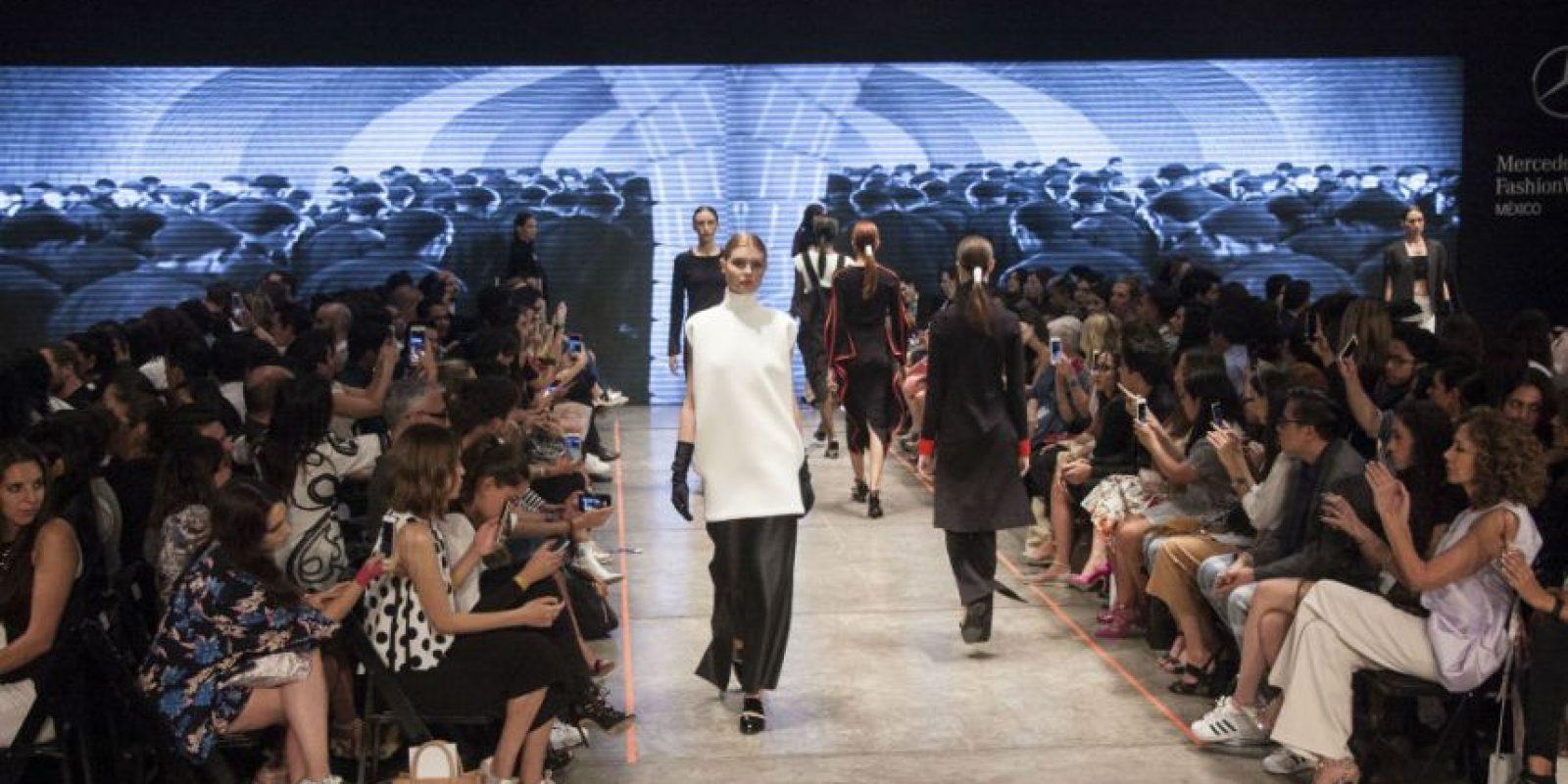 Así se vivió el segundo día del Mercedes Benz Fashion Week Foto:JDS