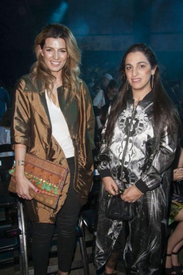Sara Galindo y Soumaya Slim asistieron al segundo día de la semana de la moda. Foto:JDS