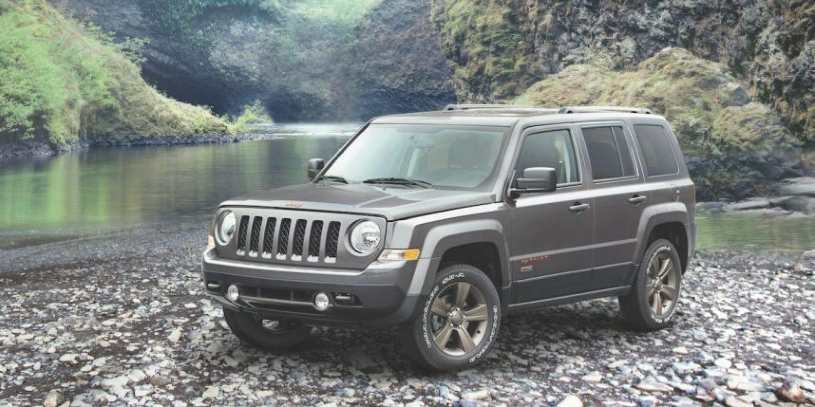Jeep Patriot se suma a los modelos que llegan a México en esta edición especial. Foto:Jeep