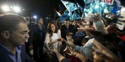 Cristina Fernández de Kirchner en Buenos Aires Foto:AP