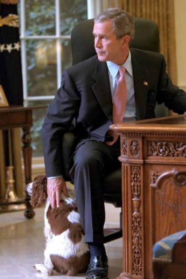 Incluso en la oficina, en la Casa Blanca Foto:Getty Images