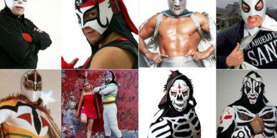 Octagón y otros luchadores que demandaron a AAA. Foto:Archivo