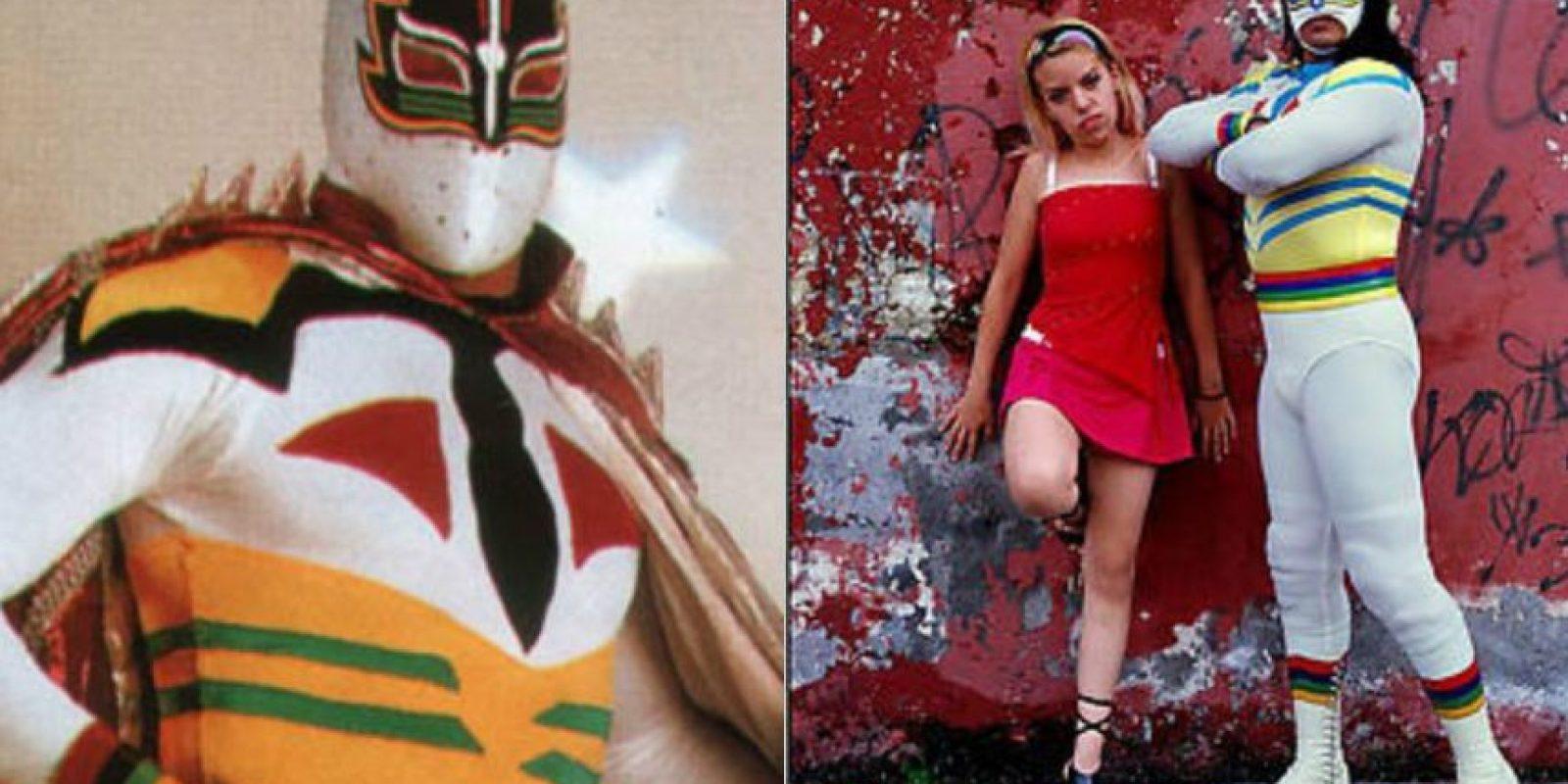 Máscara Sagrada y Máscara Sagrada Jr. Foto:Archivo