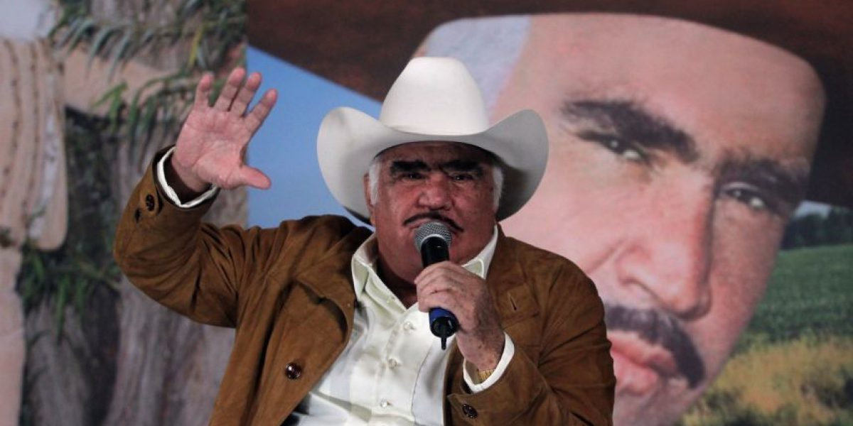 Así es como podrás ganar boletos para Vicente Fernández