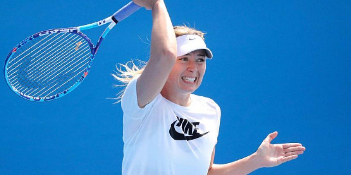 Sharapova y sus esperanzas de volver a jugar tenis cuanto antes