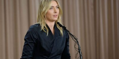 ¿Perdonarán a Maria Sharapova? Foto:Getty Images