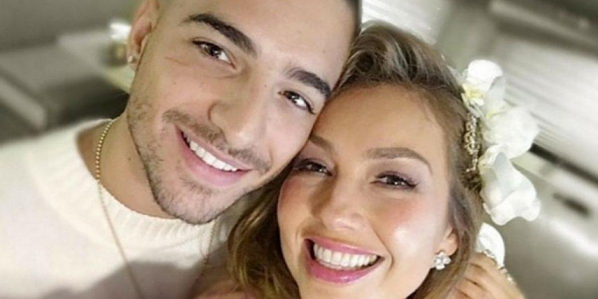 Maluma envía tierno mensaje a Thalía por enfermedad de Lyme