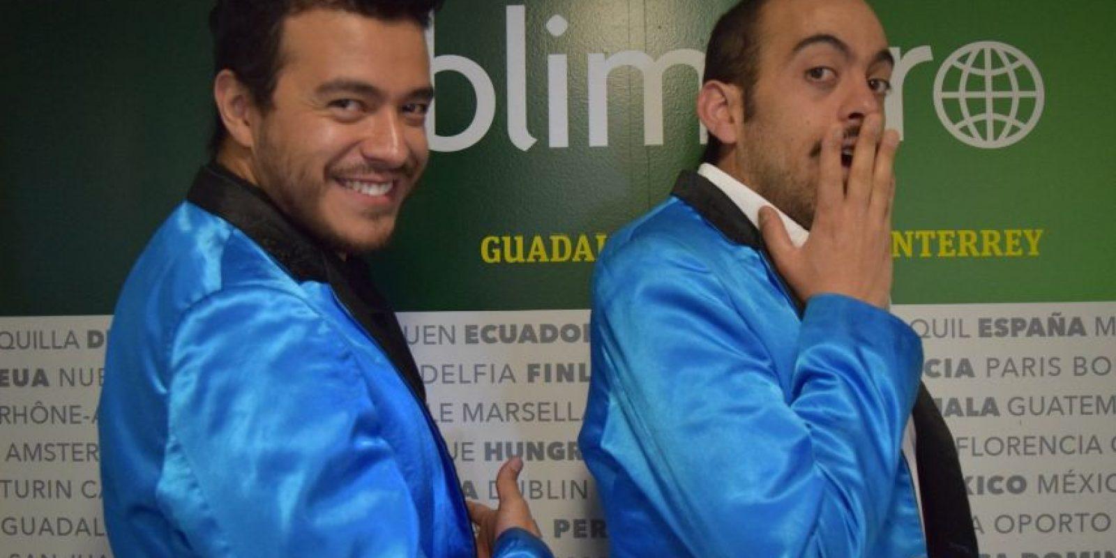 Victor Gil y Marc Monster, integrantes de Agrupación Cariño Foto:Publimetro – Carmen Ortega