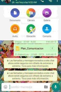 Ya pueden enviar todo tipo de archivos. Foto:WhatsApp