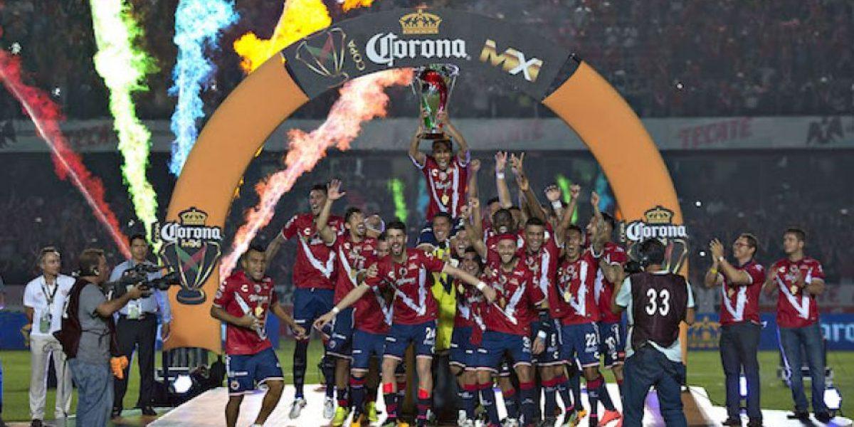 Los Tiburones deboran al Necaxa y se proclaman campeones de la Copa MX