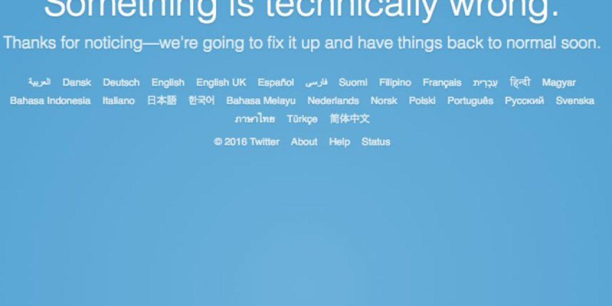 Se vuelve a caer twitter y así reaccionaron usuarios