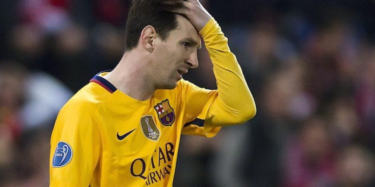 Messi no encadena cinco partidos sin marcar desde 2010