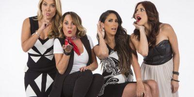 """Jimena Gallego, Roxanna Castellanos, Cynthia Urías y Lola García, conductoras de """"Cuéntamelo YA"""" Foto:Televisa"""