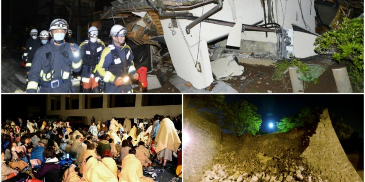 Sismo de 6.5 grados en Japón deja nueve muertos y 761 heridos