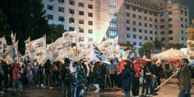 Durante el evento hubo varias protestas contra el gobierno Foto:AP