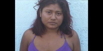 La mujer está recluida por posesión de armas de fuego Foto:Especial