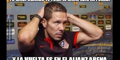 Atlético de Madrid sufrirá ante el favorito, Bayern Munich. Foto:memedeportes.com