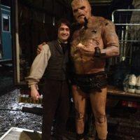 Spencer Wildingm con Daniel Radcliffe. Foto:vía instagram.com/bigspenwilding
