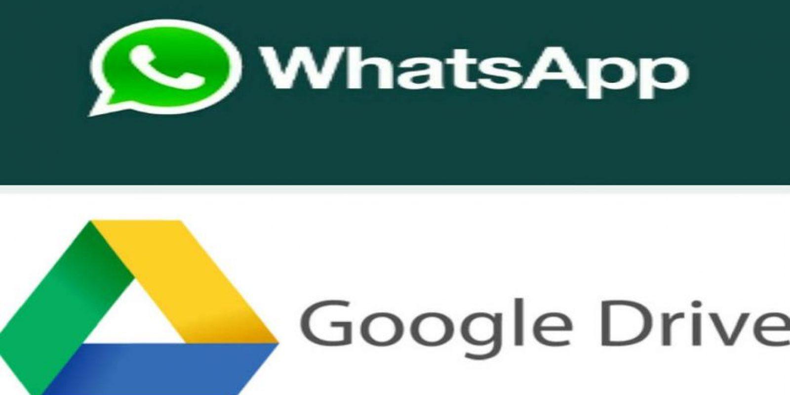 Google Drive es un servicio de la nube. Foto:WhatsApp/ Google Drive