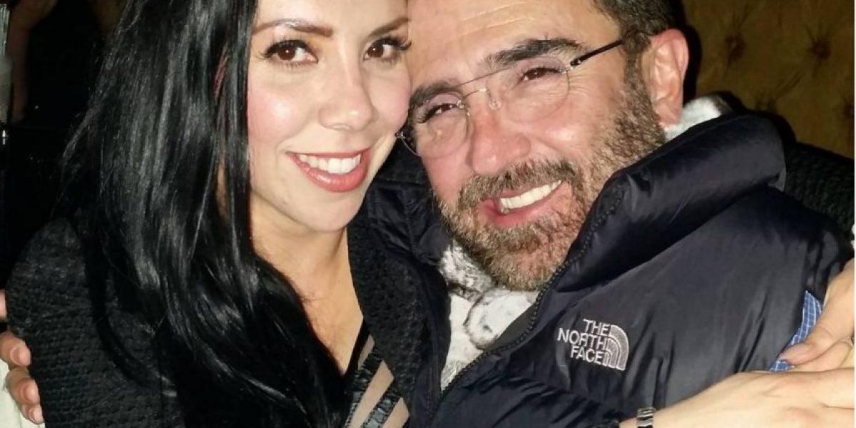 Vicente Fernández Jr. publica foto íntima de su novia