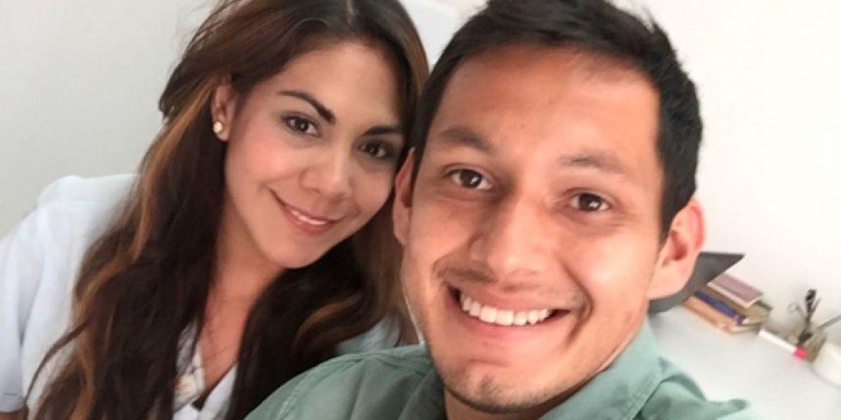 Reaparece la podóloga de Chivas junto al portero Rodolfo Cota