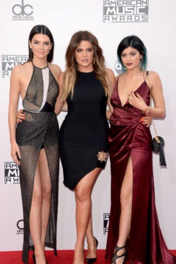 Ellas dos comenzaron a cambiar. Kendall se dedicó a modelar. Foto:vía Getty Images