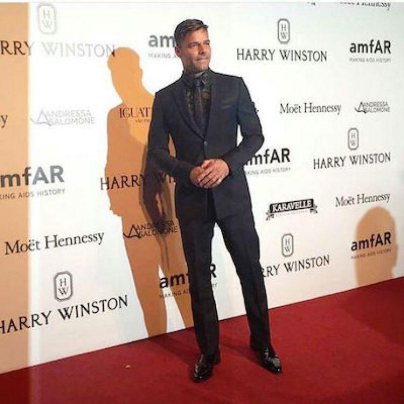 Pero si se dejó fotografiar en la alfombra roja. Foto:instagram.com/loucosporrm