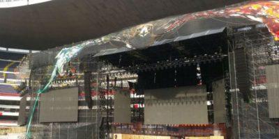 El montaje del escenario requirió el trabajo de 250 personas Foto:Gabriela Acosta