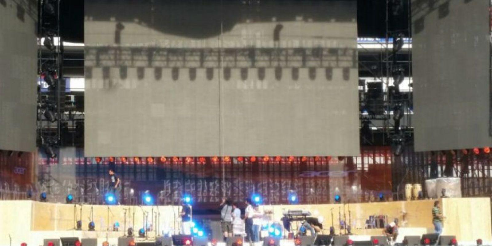 Cerca 80 mil personas asistirán al concierto Foto:Gabriela Acosta